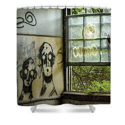 Lost Souls - Abandoned Places Shower Curtain by Gary Heller