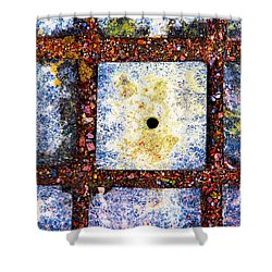 Lot Number 4 Of The Universe Shower Curtain by Alexander Senin