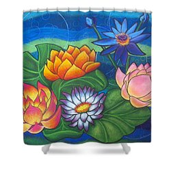Lotii Shower Curtain