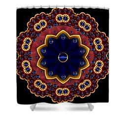Lotus Bloom Shower Curtain by Pepita Selles