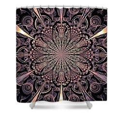 Lotus Gates Shower Curtain by Anastasiya Malakhova