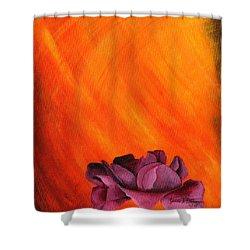 Lotus Rose Shower Curtain