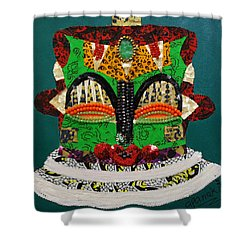 Lotus Warrior Shower Curtain