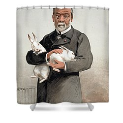 Louis Pasteur Shower Curtain by Granger