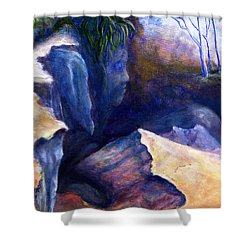 Louisiana Kisatchie Surrealism Shower Curtain