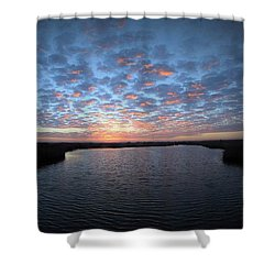 Louisiana Sunrise Shower Curtain