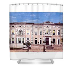 Louisville Kentucky - The Pendennis Club - 1919 Shower Curtain