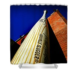 Louisville Slugger Bat Factory Museum Shower Curtain