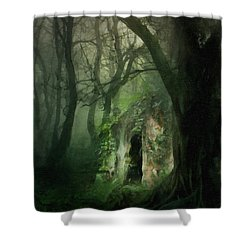Love Affair With A Forest Shower Curtain
