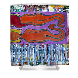 Love And Marriage Shower Curtain by Patrick J Murphy