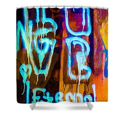 Love And Something Else Shower Curtain by Bob Orsillo