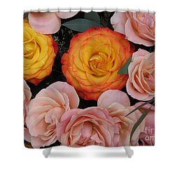 Love Bouquet Shower Curtain by HEVi FineArt