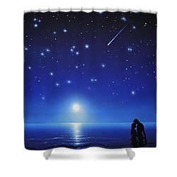 Love By Moonlight Shower Curtain