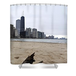 Love Chicago Shower Curtain