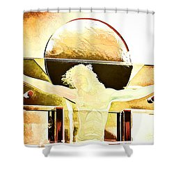 Greater Love  Shower Curtain