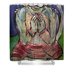 Love For Hanuman Shower Curtain