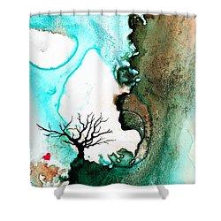 Love Has No Fear - Art By Sharon Cummings Shower Curtain by Sharon Cummings