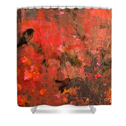 Love In Red 3 Shower Curtain