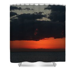 Love Is A Burning Thing Shower Curtain by Laurie Search