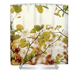 Love Leaf Shower Curtain