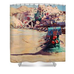 Love Letters Shower Curtain by Laurie Search