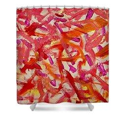 Love Shower Curtain by Luz Elena Aponte