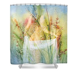 Love Me In The Misty Dawn Shower Curtain