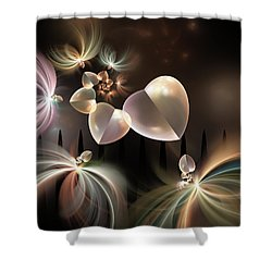 Love Needs Freedom Shower Curtain