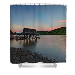 Love Shack Shower Curtain