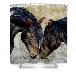 Love Will Keep Us Together - Painting Shower Curtain