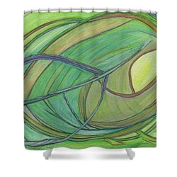 Loveliness Arises Shower Curtain