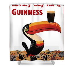 Lovely Day For A Guinness Shower Curtain by Georgia Fowler