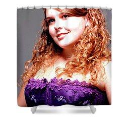Lovely Rachel Shower Curtain by Kathleen Struckle