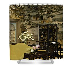 Lovely Room At Winterthur Gardens Shower Curtain by Trish Tritz