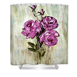 Lovely Roses Shower Curtain