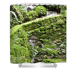 Lovely Waterfall Shower Curtain