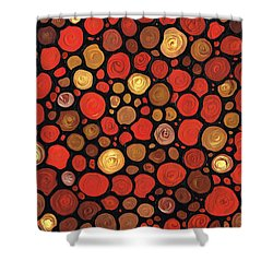 Lovers Shower Curtain by Sharon Cummings