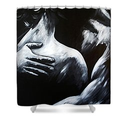 Love's Embrace Shower Curtain