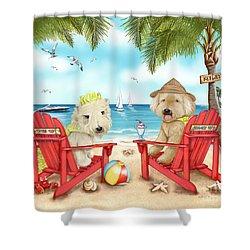 Loving Key West Shower Curtain