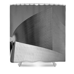Low Angle View Of A Building, Walt Shower Curtain