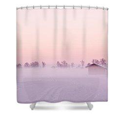 Low Fog Shower Curtain