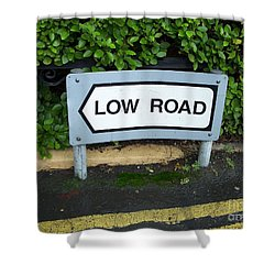 Low Road Shower Curtain
