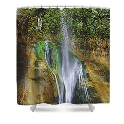 Lower Calf Creek Falls Escalante Grand Staircase National Monument Utah Shower Curtain