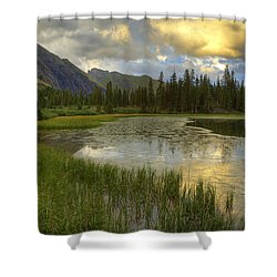 Lower Ice Lake Shower Curtain