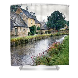 Lower Slaughter Shower Curtain