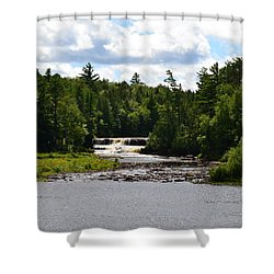 Lower Tahquamenon Falls L Shower Curtain