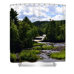 Lower Tahquamenon Falls Ll Shower Curtain