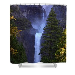 Lower Yosemite Falls Shower Curtain by Patrick Witz