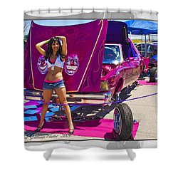 Lowrider_18 Shower Curtain