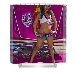 Lowrider_18b Shower Curtain